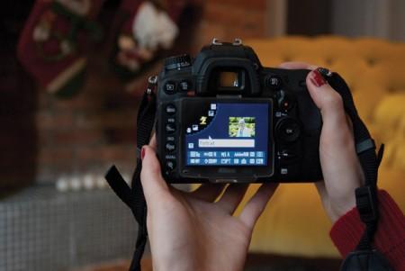 Дисплей фотокамеры