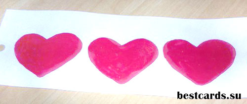Сердечки на День влюбленных