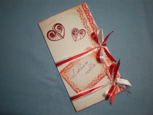 Открытка на День святого Валентина 13