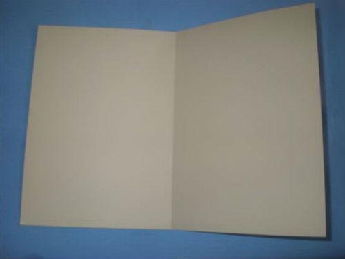 Сгибаем картонный лист